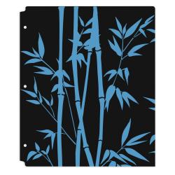 "Office Depot® Brand Fashion 2-Pocket Poly Folder, 8-1/2"" x 11"", Bamboo"