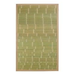 Anji Mountain Key West Bamboo Rug, 5' x 8', Green
