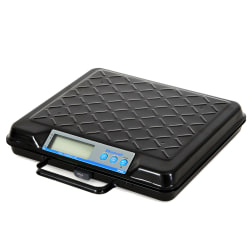 Brecknell® Electromechanical Digital Bench Scale, 250-Lb Capacity, Black