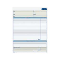 """Adams® Bid Memo Books, 8 3/8"""" x 11 7/16"""", White, 50 Sheets Per Book, Carton Of 12 Books"""