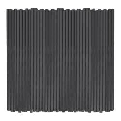 "Amscan Plastic Drink Stirrers, 4-3/4"", Black, Pack Of 2,000 Stirrers"
