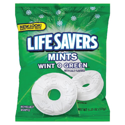 Life Savers®, Wint-O-Green® Mints, 6.25 Oz Bag