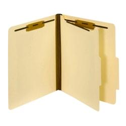 Pendaflex® Top-Tab Manila Classification Folders, Letter Size, Box Of 10 Folders