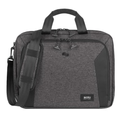 Solo Voyage Briefcase With 15 6 Laptop