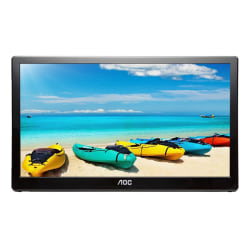 "AOC I1659FWUX 15.6"" FHD LCD USB-Powered Monitor"