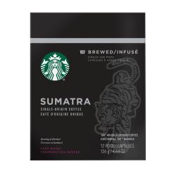 Verismo™ Sumatra Single-Serve Coffee Pods, 2 Oz, Carton Of 12