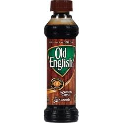 Old English Scratch Cover Polish - Liquid - 8 fl oz - 6 / Carton - Dark Brown