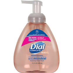 Dial Complete® Foaming Antibacterial Hand Wash, Original Scent, 15.2 Oz. Pump
