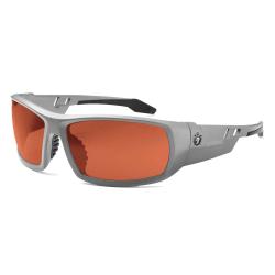 Ergodyne Skullerz® Safety Glasses, Odin, Polarized, Matte Gray Frame, Copper Lens