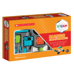 Scholastic STEAM Maker Electronics Activity Kit, Grades 2 To 5