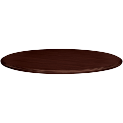"HON® 94000 Series™ Round Table Top, 42"" Diameter, Mahogany"