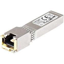 StarTech.com Cisco SFP+ Module - 10GBASE-T Copper SFP Transceiver - Lifetime Warranty - 10 Gbps - Maximum Transfer Distance: 30 m (100 ft.) - 100% compatibility with Cisco copper 10GBASE-T SFP+ module guaranteed - StarTech.com lifetime warranty