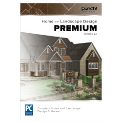 Punch!® Home And Landscape Design Premium Version 20