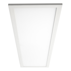 Sylvania LEDVANCE Edge-Lit Indoor LED Flat Panel Fixture, 2' x 4', Dimmable, 3500 Kelvin, 50W, 6250 Lumens