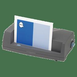 GBC® Electric Adjustable 2-Hole Punch, Dark Gray