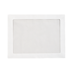 "LUX Full-Face Window Envelopes With Moisture Closure, #9 1/2, 9"" x 12"", Bright White, Pack Of 500"