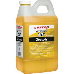 Symplicity Citrusuds Pot/Pan Detergent - Concentrate Liquid - 67.6 fl oz (2.1 quart) - Fresh Lemon Scent - 1 Each - Yellow