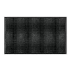 "Office Depot® Brand TireTuff Royale High-Traffic Entrance Mat, 36""H x 60""W, Onyx"
