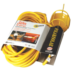 Southwire Grounded Me Incandescent Trouble Light, Yellow