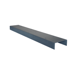 """Mail Boss™ 3 Box Spreader Bar, 34""""H x 5""""W x 2""""D, Granite"""