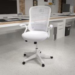 Flash Furniture Ergonomic Mesh High-Back Office Chair, White