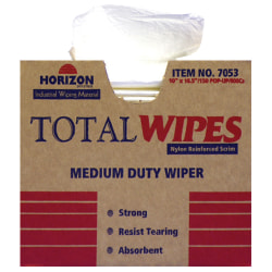 Wiping Towels, Heavy-Duty, Four-Ply, Box Of 150 (AbilityOne 7920-01-448-7053)