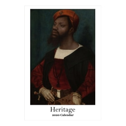 """Retrospect Heritage Monthly Wall Calendar, 19"""" x 12-1/2"""", January To December 2020, YC 091-20"""