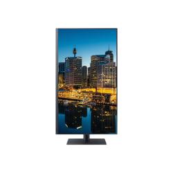 "Samsung F32TU872VN - TU872 Series - LED monitor - 32"" (31.5"" viewable) - 3840 x 2160 4K @ 60 Hz - VA - 250 cd/m² - 2500:1 - HDR10 - 8 ms - 2xThunderbolt 3, HDMI, DisplayPort - dark gray/blue"