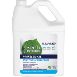 Seventh Generation Disinfecting Bathroom Cleaner Refill - 128 fl oz (4 quart) - Lemongrass Citrus Scent - 1 Each - Multi