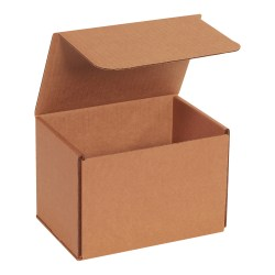 """Office Depot® Brand Corrugated Mailers, 5""""H x 5""""W x 7""""D, Kraft, Pack Of 50 Mailers"""