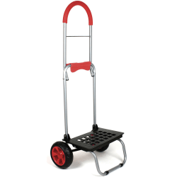 """Dbest Mighty Max Dolly, 160 Lb Capacity, 15""""H x 14""""W x 38""""D, Red"""