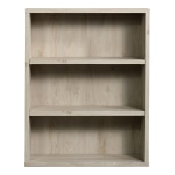 "Sauder® Optimum Bookcase, 45"", 3 Shelves, Chalked Chestnut"