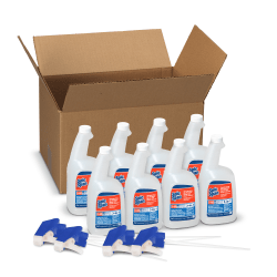 Spic And Span® Disinfecting All-Purpose Spray & Glass Cleaner, 32 Oz, 4 Spray Trigger Per Case, Case Of 8 Bottles