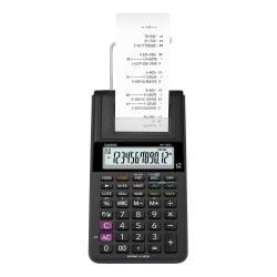 Casio® HR-10RC Portable Printing Calculator