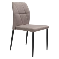 Zuo® Modern Revolution Dining Chairs, Beige, Set Of 2