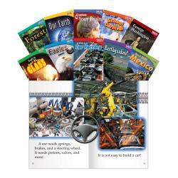 Teacher Created Materials TIME FOR KIDS® Nonfiction Book Set, Set 1, Set Of 10 Books, Grade 2