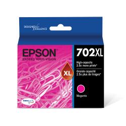 Epson® DuraBrite® Ultra T702XL320-S Magenta High-Yield Ink Cartridge