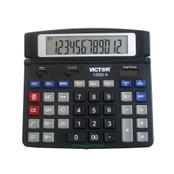Victor® 1200-4 Professional Desktop Calculator