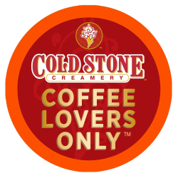 Cold Stone Creamery Single-Serve Coffee K-Cup®, Coffee Lovers Only, Carton Of 24