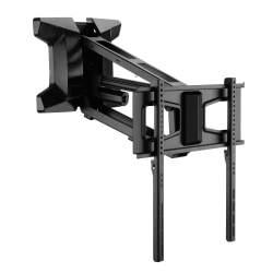 "Mount-It MI-386 Motorized Fireplace TV Wall Mount For Screens 30 To 70"", 71""H x 13""W x 18""D, Black"
