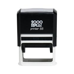 "Custom 2000 PLUS® Self-Inking Stamp, P55, 1-1/2"" x 2-1/4"" Impression"