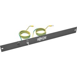 "Tripp Lite Rack Enclosure/Open Frame Server Cabinet ESD Grounding Panel 1U - 2"" Width"