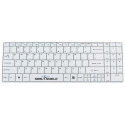 Seal Shield Cleanwipe Wireless Waterproof Keyboard - Wireless Connectivity - RF - 2.40 GHz - English (US) - White