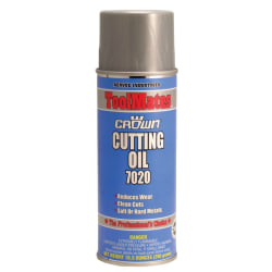 Crown Cutting Oils, 16 Oz Aerosol Can, Pack Of 12 Cans