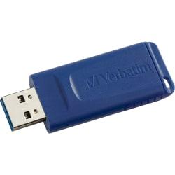 Verbatim 32GB USB Flash Drive - Blue - 32 GB - USB - Blue