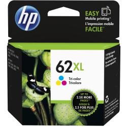 HP 62XL High Yield Tricolor Original Ink Cartridge (C2P07AN)