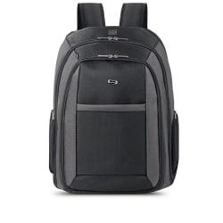 Solo® CheckFast?Laptop Backpack, Black