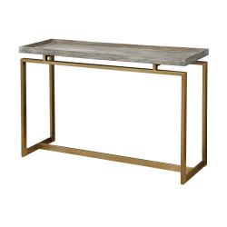 "Coast To Coast Biscayne Console Table, 30""H x 47-1/2""W x 15-1/2""D, Brown"