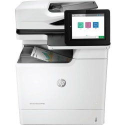 HP LaserJet M681 M681f Laser Multifunction Printer - Color - Copier/Fax/Printer/Scanner - 50 ppm Mono/50 ppm Color Print - 1200 x 1200 dpi Print - Automatic Duplex Print - Upto 100000 Pages Monthly - 650 sheets Input
