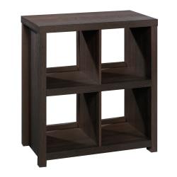 Sauder® HomePlus Cube Bookcase, 4 Shelves, Dakota Oak